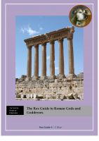 The Rex Guide to Roman Gods and Goddesses cover