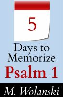 Cover for '5 Days to Memorize Psalm 1'