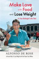 Cover for 'Make Love with Food and Lose Weight'