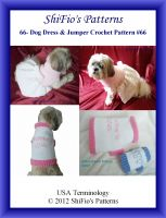 Cover for '66- Dog Dress & Jumper Crochet Patterns #66'