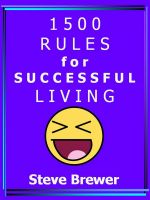 Cover for '1500 Rules for Successful Living'