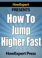 Cover for 'How to Jump Higher Fast - Secrets to Increase Your Vertical Leap Naturally!'