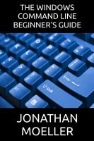 Cover for 'The Windows Command Line Beginner's Guide - Second Edition'