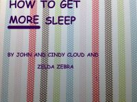 Cover for 'How To Get More Sleep'
