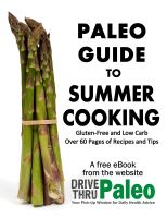 Cover for 'Paleo Guide to Summer Cooking'