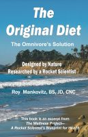 Cover for 'The Original Diet'