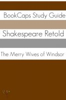 Cover for 'The Merry Wives of Windsor In Plain and Simple English (A Modern Translation and the Original Version)'