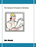 Cover for 'The Dynamic Principle of Salvation'