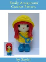 Cover for 'Emily Amigurumi Crochet Pattern'