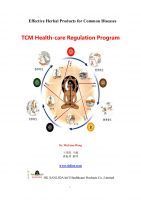 Cover for 'Effective Herbal Products for Common Diseases/TCM Health-care Regulation Program'
