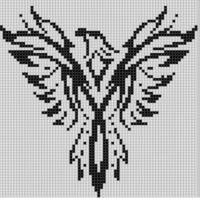 Cover for 'Eagle 4 Cross Stitch Pattern'