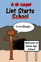 Cover for 'Lint Starts School'