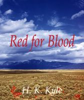 Cover for 'Red for Blood'