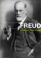 Cover for 'Sigmund Freud in Plain and Simple English'
