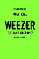 Cover for 'Weezer: The Unofficial Band Biography'