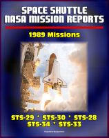 Cover for 'Space Shuttle NASA Mission Reports: 1989 Missions, STS-29, STS-30, STS-28, STS-34, STS-33'