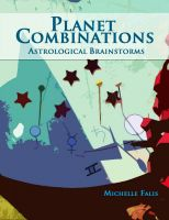 Cover for 'Planet Combinations: Astrological Brainstorms'