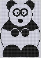 Cover for 'Panda Cross Stitch Pattern'