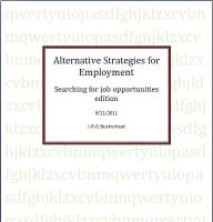 Cover for 'Alternative Strategies for employment'