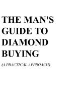 Cover for 'The Man's Guide to Diamond Buying'