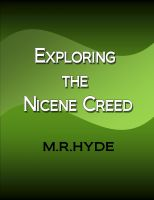 Cover for 'Exploring the Nicene Creed'