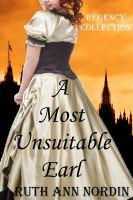 Cover for 'A Most Unsuitable Earl'