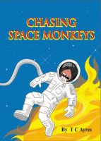 Cover for 'Chasing Space Monkeys'