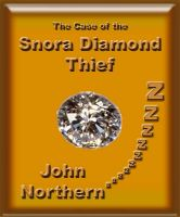 Cover for 'The Case of the Snora Diamond Thief'