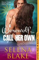 Cover for 'A Werewolf to Call Her Own (Mystic Isle, Book 2)'