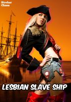 Cover for 'Lesbian Slave Ship'
