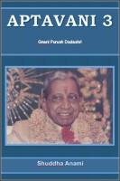 Aptavani 3 - Gnani Purush Dadashri