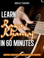 Cover for 'Learn Raga Khamaj in 60 Minutes (Exotic Guitar Scales for Solo Guitar)'