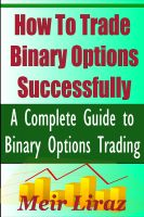 Cover for 'How to Trade Binary Options Successfully'