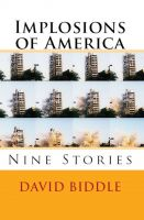 Cover for 'Implosions of America: Nine Stories'