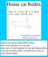 Cover for 'House Cat Redux'