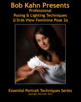 Cover for 'Posing & Lighting 2/3rds View Feminine Pose 2a'