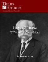 "Cover for 'Henry J. Heinz: ""57 Varieties"" and More'"