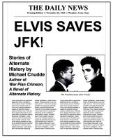 Cover for 'Elvis Saves JFK!'