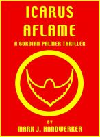 Cover for 'Icarus Aflame'