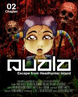 Cover for 'Quala - Escape From Headhunter Island'
