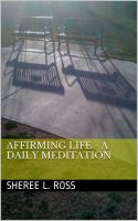 Cover for 'Affirming Life - A Daily Meditation'