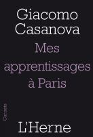 Cover for 'Mes apprentissages à Paris'