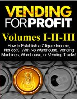 Cover for 'Vending for Profit volumes I-II-III'