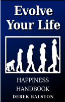 Cover for 'Evolve Your Life Happiness Handbook'