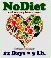 Cover for 'NoDiet - Eat More, Lose More'