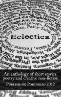 Cover for 'Eclectica: An anthology'