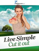 Cover for 'Live Simple-Cut it Out'