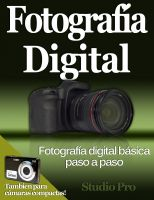 Cover for 'Fotografía Digital'