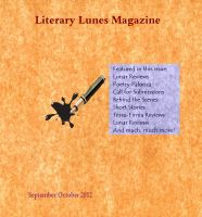 Cover for 'Literary Lunes Magazine: September/October 2012 (black and white edition)'