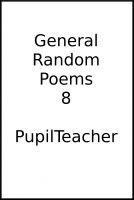 Cover for 'General Random Poems 8'